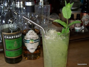 Chartreuse Swizzle