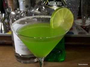green melon margarita